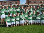 The victorious Rosenallis team who won the Laois Feile 'A' hurling title at the weekend