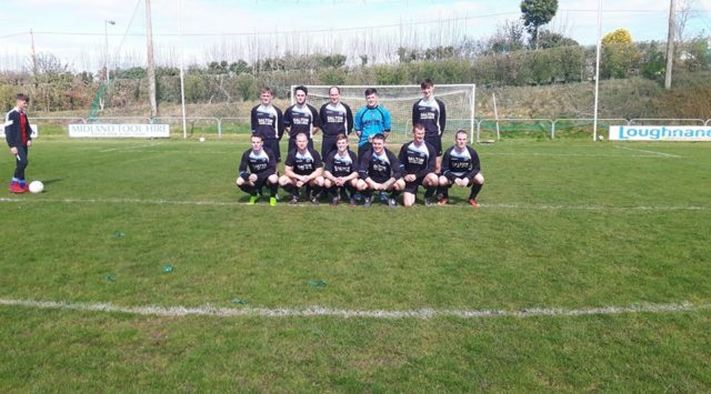 The Raheen FC side that reached the Division 2 Cup final today