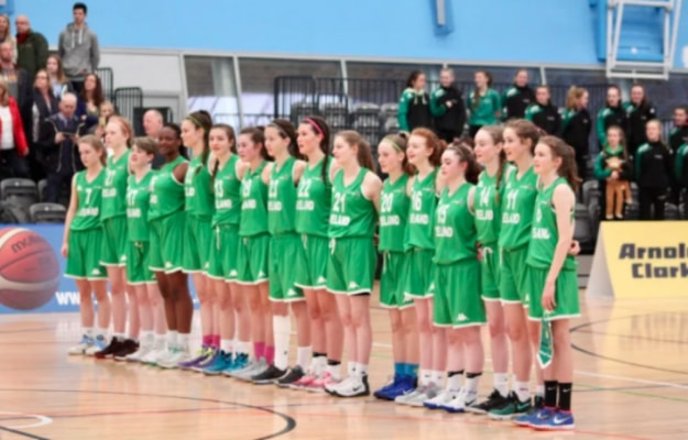 The Laois girls competed brilliantly for Ireland U-15 basketball team over the weekend