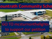Mountrath Community School is looking for public lights to be put up