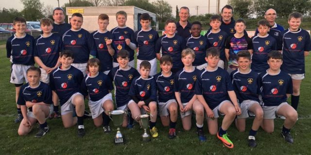 Three try Portlaoise win a second trophy