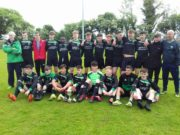 The Portlaoise AFC U-19 team who won the cup at the weekend