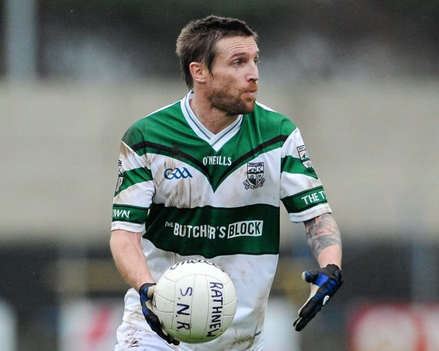 Colm Parkinson in one of his final games for Portlaoise in 2011