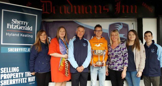 Ballyfin AC with Sherry Fitzgerald Hyland and the Deadmans Inn team