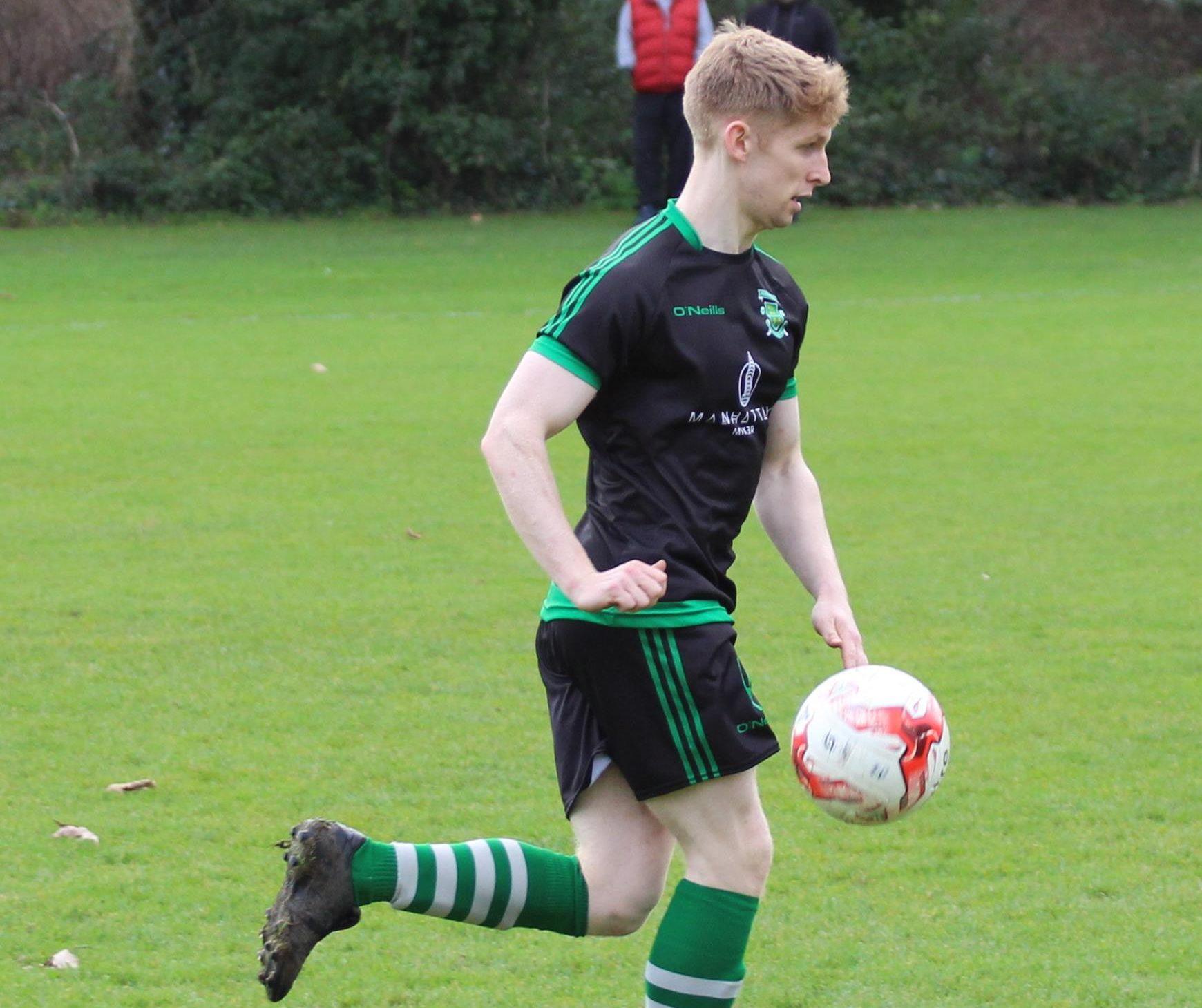 Eoghan White of Portlaoise AFC