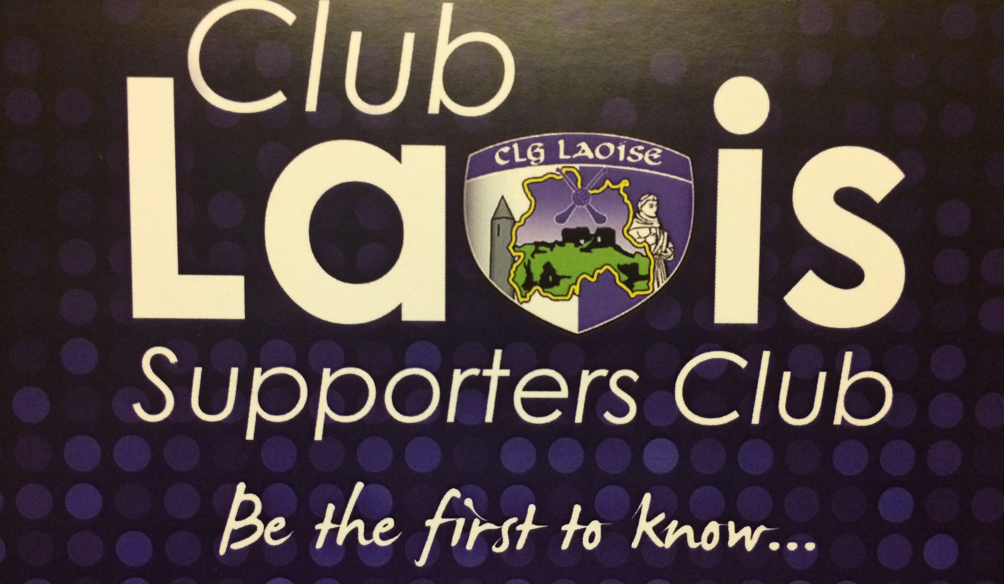 Club Laois has been relaunched