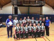 The Scoil Chríost Rí team who won the All-Ireland U-15 basketball title today