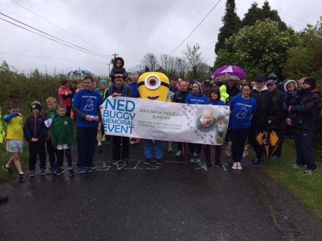 A massive turnout at the Ned Buggy memorial run