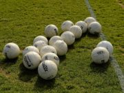 There was a number of games in Laois on Sunday evening