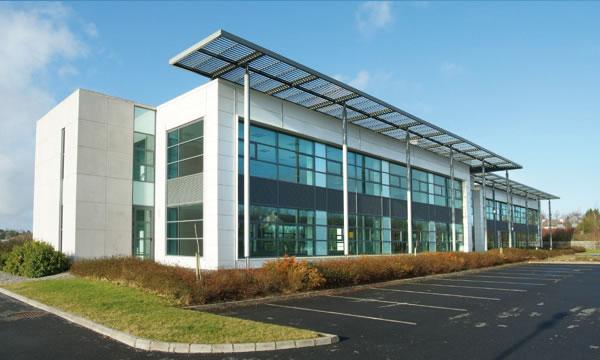 The Portlaoise Technology and Business Park was robbed