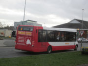 The new bus service begins this week