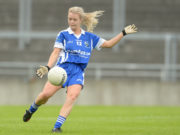Rachel Williams tried hard for the Laois Ladies in their defeat against Dublin this morning