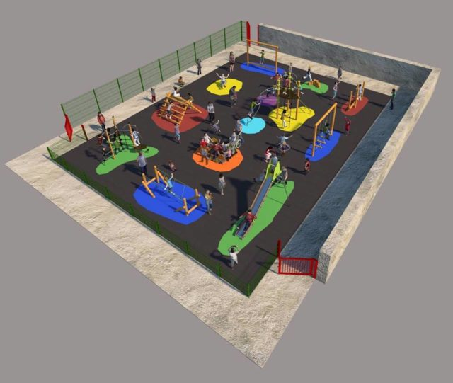 Part of the planned redevelopment at Presentation Primary School Portarlington