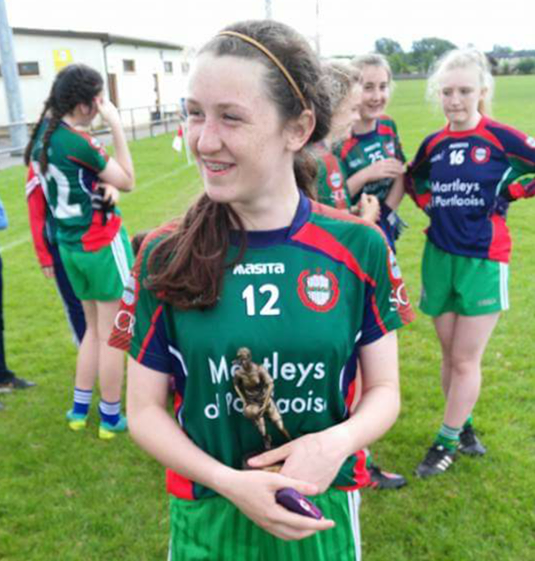 Orla Hennessy will represent Laois today at the John West National Skills Competition