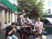 Fallen Lights performing at Sally's Portlaoise for mental health awareness