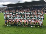The Portlaoise team who contested the Division 1 All-Ireland Feile football final yesterday