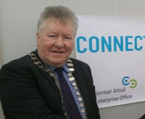 Cllr John Moran was at the centre of controversy this afternoon