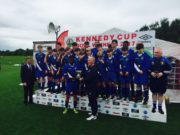 The Midlands Schoolboys League who won the Kennedy Cup Bowl this afternoon