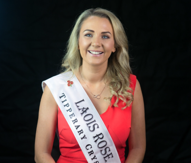 Maeve Dunne Laois Rose has become an ambassador for GROW