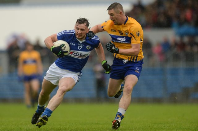 Gary Walsh will be hoping for better fortune when Laois take on Clare later today
