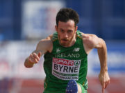 St Abbans hurdler Paul Byrne smashed his own personal best at the weekend