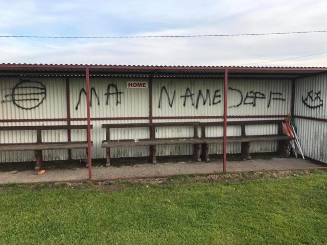 Slieve Bloom GAA club was vandalised over the weekend