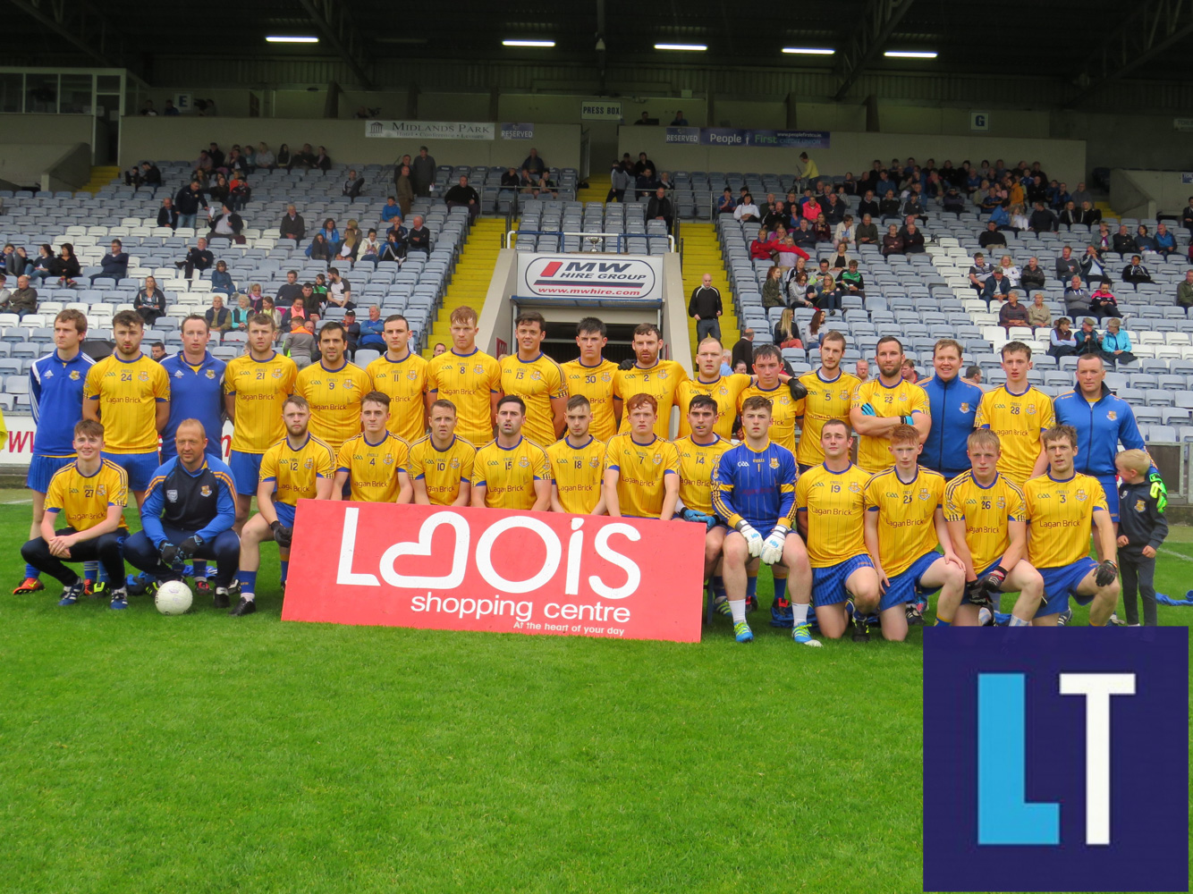 The St Joseph's team who played O'Dempsey's this evening