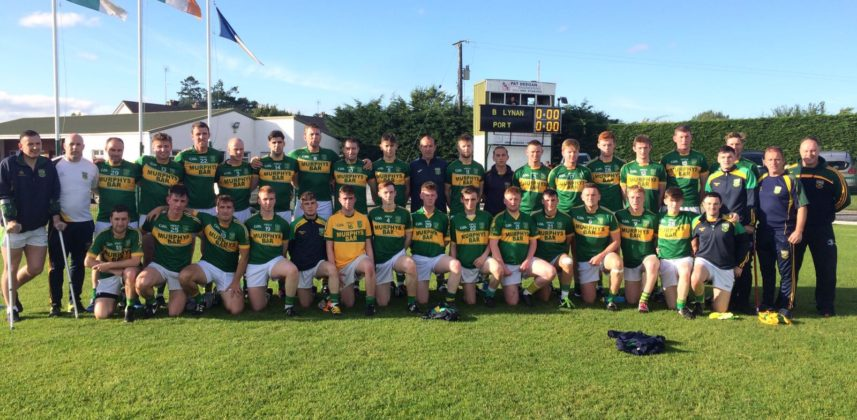 The Ballylinan team who beat Portarlington in the ACFL Division 1B final tonight