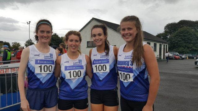 Members of the Laois Ladies team