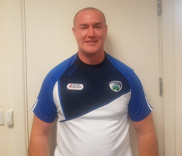 New Laois Games Development Officer Peter Hally