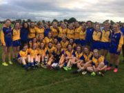 The victorious St Joseph's team who beat Ballyfin in the Junior decider