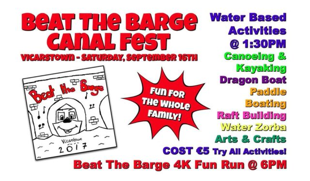 Beat the Barge takes place in Vicarstown this weekend