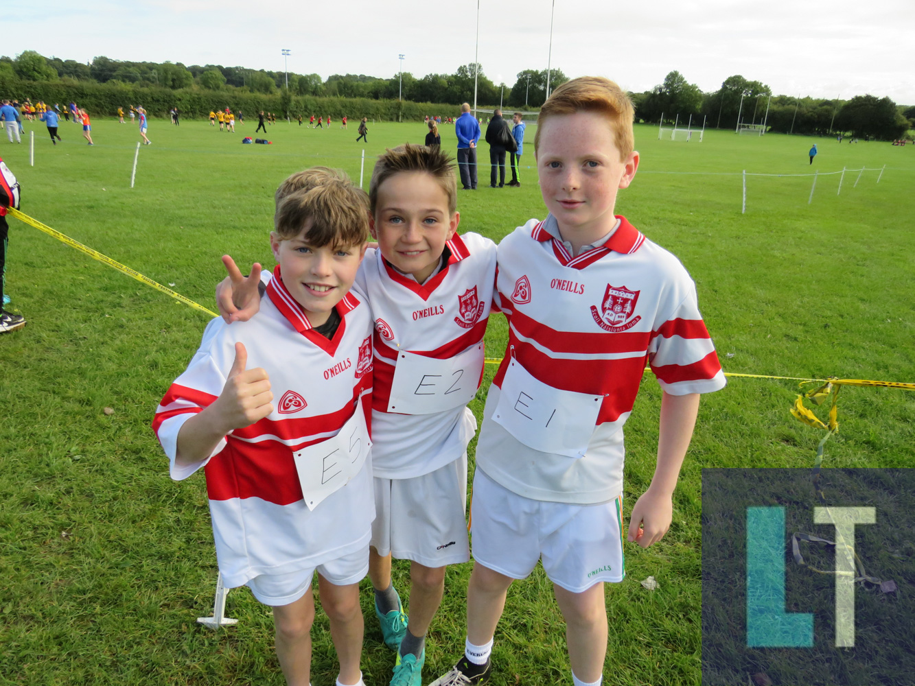 Competitors at the Laois Primary Schools Cross Country