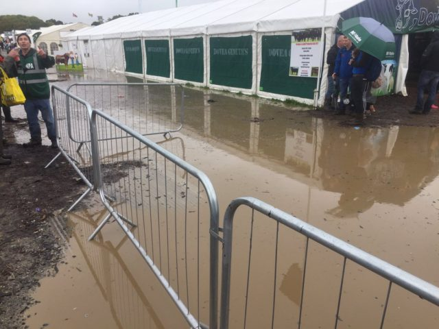 Flooding at the National Ploughing Championships