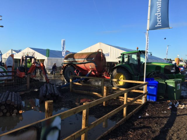 Relief works are still ongoing at the Ploughing Championships