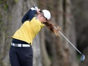 Mary Doyle claimed another golf trophy a few weeks ago