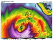 Storm Brian is set to batter us again this weekend