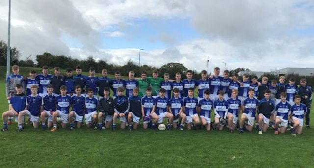 The Laois U-16 team who lost to Offaly yesterday in the Fr Manning Cup