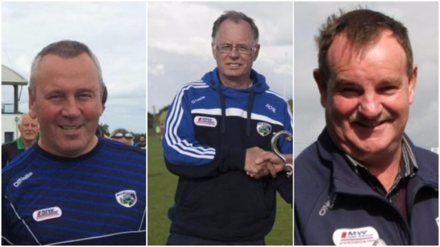 Three men have put themselves forward to become the next chairman of the Laois County Board