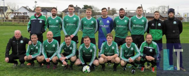 The Portlaoise Shamrocks team who defeated Abbeyleix this morning. One of a number of clubs in action