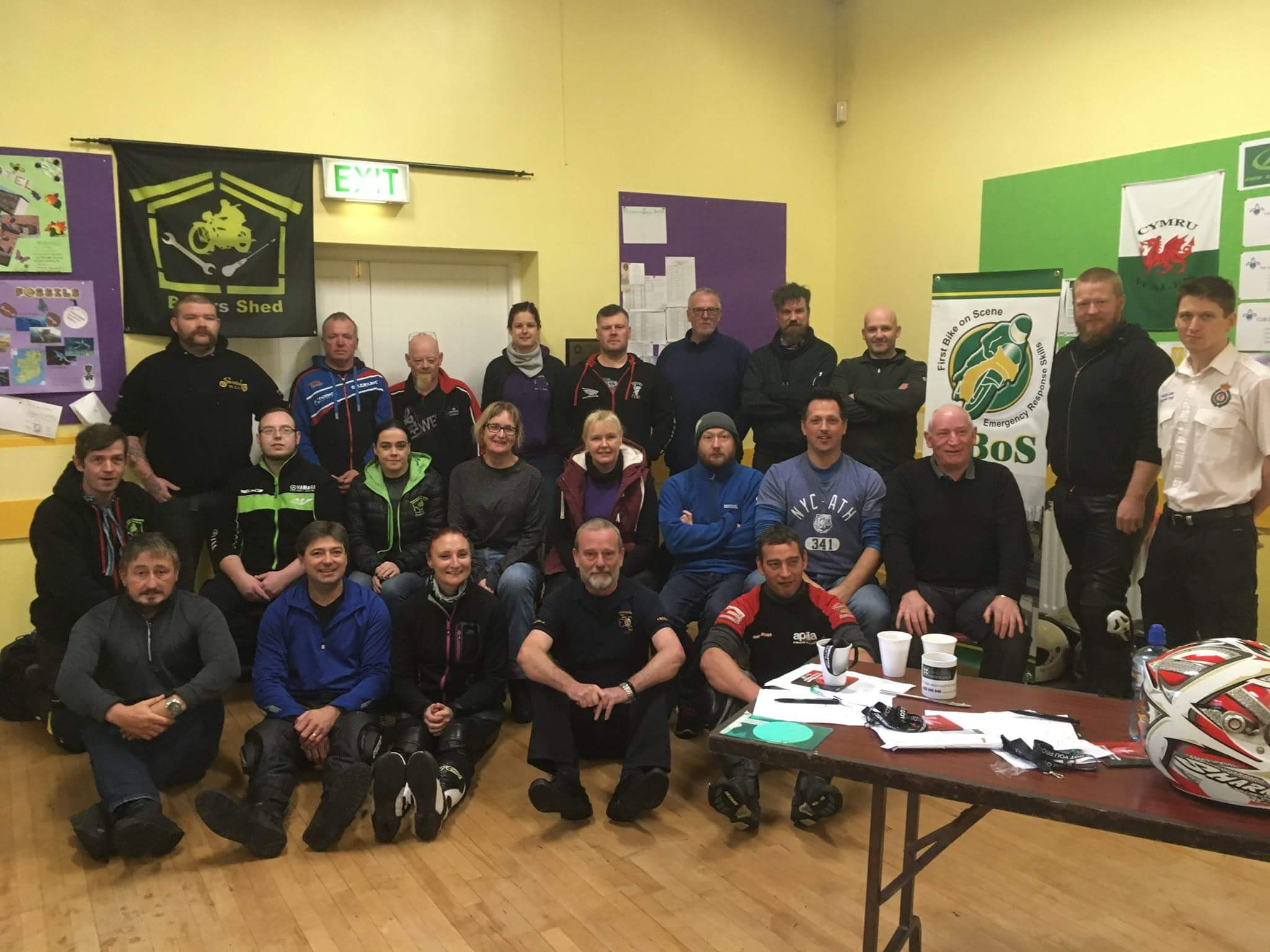 Local Bikers Shed Initiative Aims To Save Lives Laois Today
