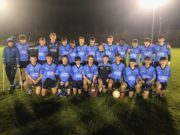 Ballyroan-Abbey were crowned U-15 Cross Border Floodlit champions on Friday night