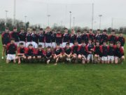 The Mountrath CS team who lost to Colaiste Eoin today