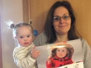 """Saoirse Lewis, with her mum Ailish, is the cover girl on this year's Down Syndrome Centre """"I'm Able 2"""" calendar for 2018"""