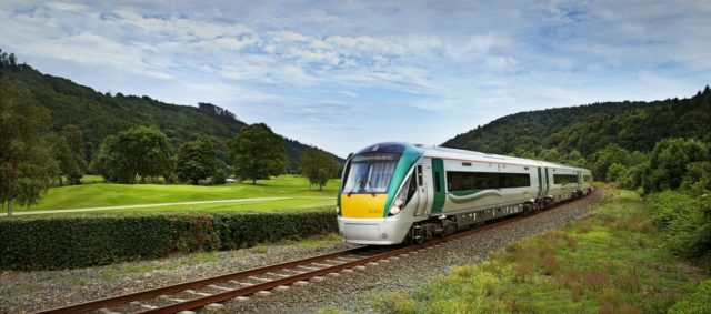 Irish Rail have been called upon to fix a wall they damaged