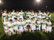 The Portlaoise U-13 football team who won the championship