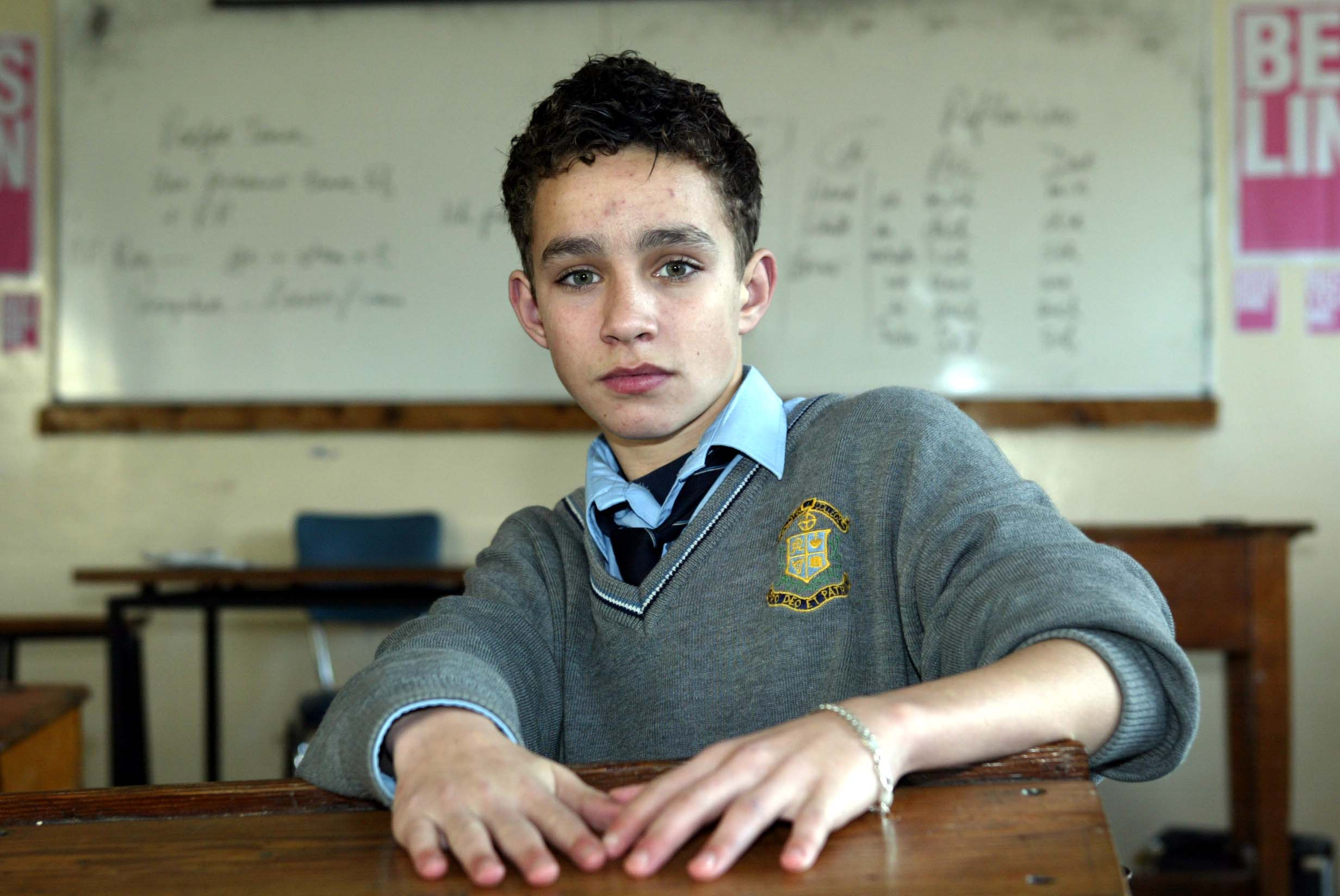Moment in time: Schoolboy Robert Sheehan wins his first ...