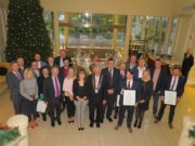 All of the candidates at the Laois Young Entrepreneur Awards