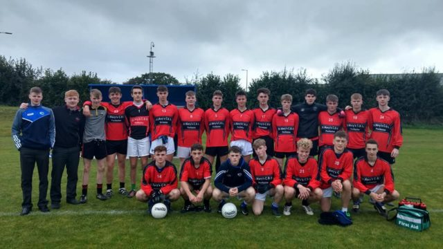 Portlaoise CBS got off to a winning start this afternoon