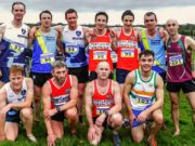 The Laois County mens team at the National Novice Cross Country - Jimmy McCormack